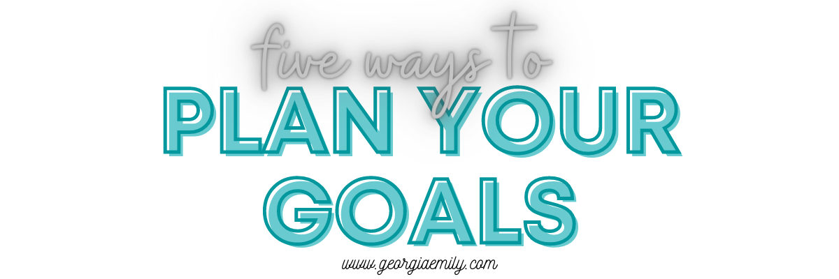 Goal planning – how to plan your goals