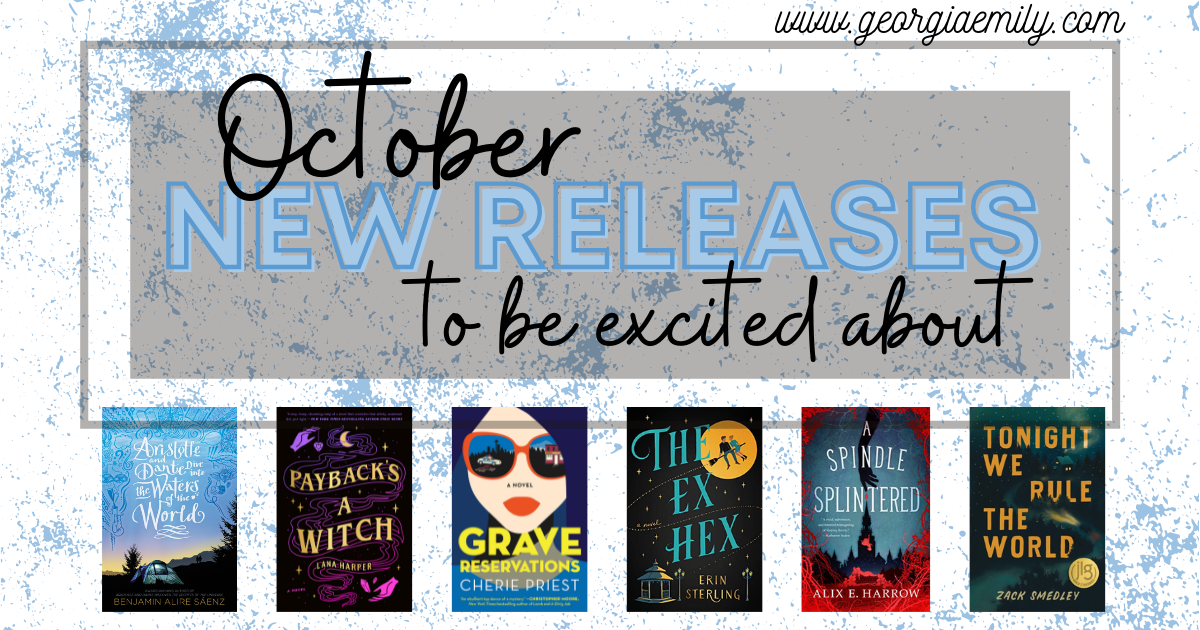 Book releases to be excited about in October 2021