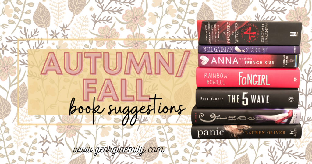 Autumn Fall Book Suggestions